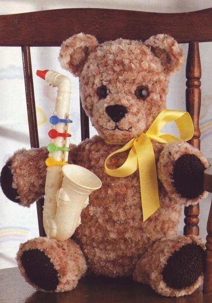 Classic Crochet Teddy Bear   Zabawki, Szydełkowanie i Dzieci   600x419